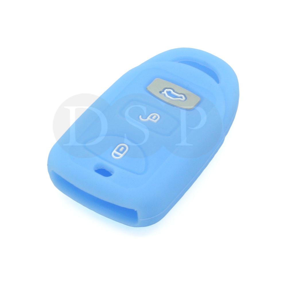 Silicone Skin Cover Fit For Hyundai Kia Smart Remote Key Case Fob 3b Cv4106 Lb Ebay