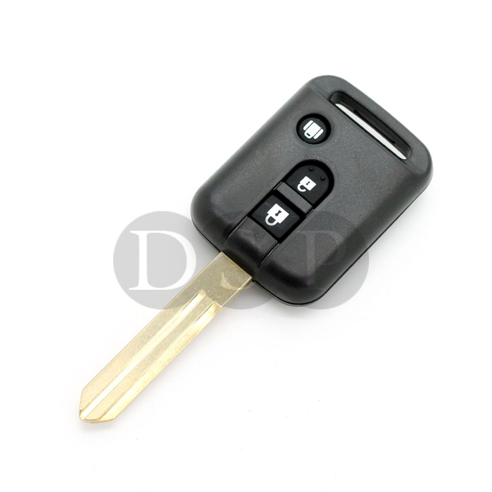 remote key case for nissan micra 350z pathfinder navara replacement fob 3 button ebay. Black Bedroom Furniture Sets. Home Design Ideas