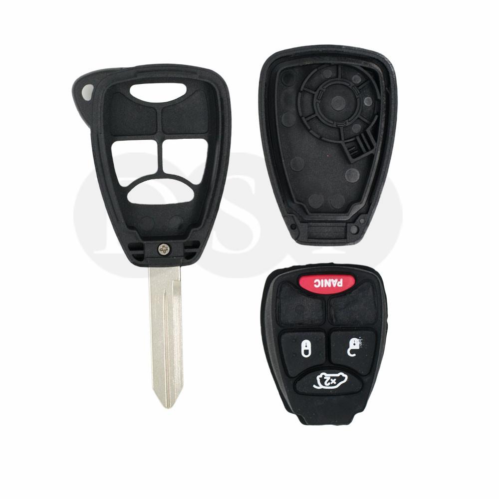 Remote Key Case Shell Fit For Chrysler Dodge Jeep Sebring