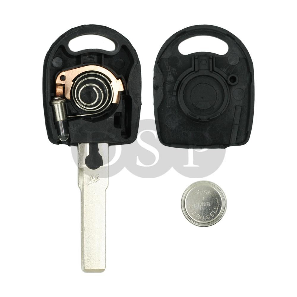 2002 Volkswagen Jetta Key: Replace Key Shell Fit For VOLKSWAGEN Beetle Golf Bora